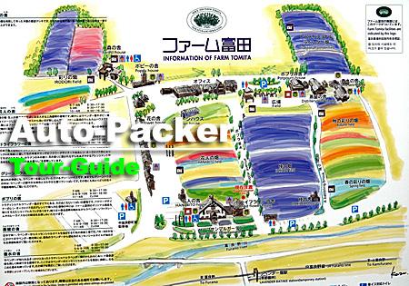 ファーム富田 場内マップ