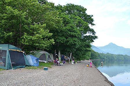 和琴半島湖畔
