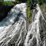 キャンピングカーでも行きやすい、うとろの観光名所 オシンコシンの滝