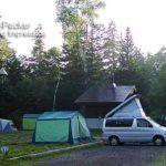 キツツキやシマリスに会える、美瑛自然の村キャンプ場