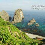 旅人には分かりにくい、積丹岬と島武意(しまむい)海岸の関係