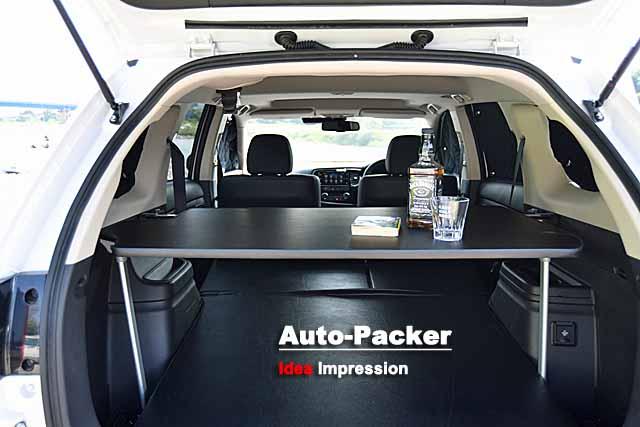 アウトランダーPHEVの車中泊仕様モデル