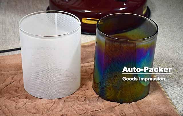 レインボーストーブ ガラス筒
