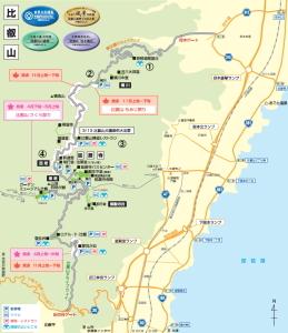 比叡山マップ