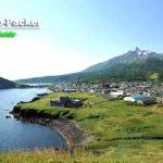 利尻富士と礼文島が眺望できる、利尻島の夕日ヶ丘展望台