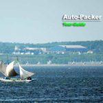 北海道遺産に登録されている野付湾の打瀬舟。