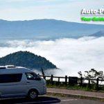 屈斜路湖を覆い尽くす雲海を撮りに藻琴山へと向かった。ここからの眺めは無料である(笑)。