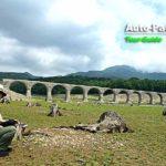 同じく北海道遺産に名を連ねるタウシュベツ川橋梁。