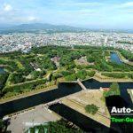 戊辰戦争の最終戦地となった五稜郭も北海道遺産。