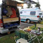 アスファルトの車中泊サイトができた、上富良野町日の出公園オートキャンプ場
