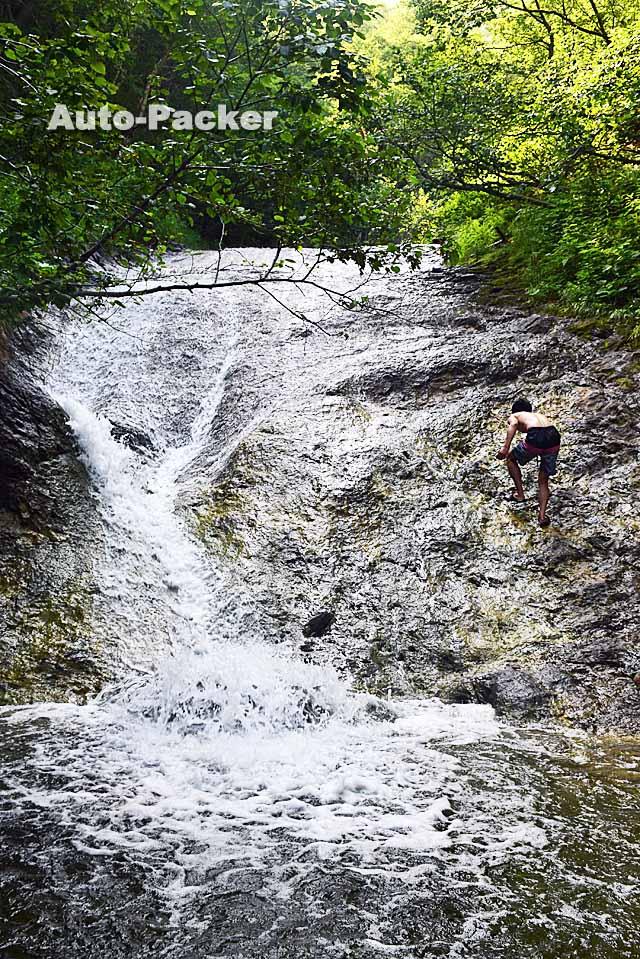 カムイワッカ・湯の滝