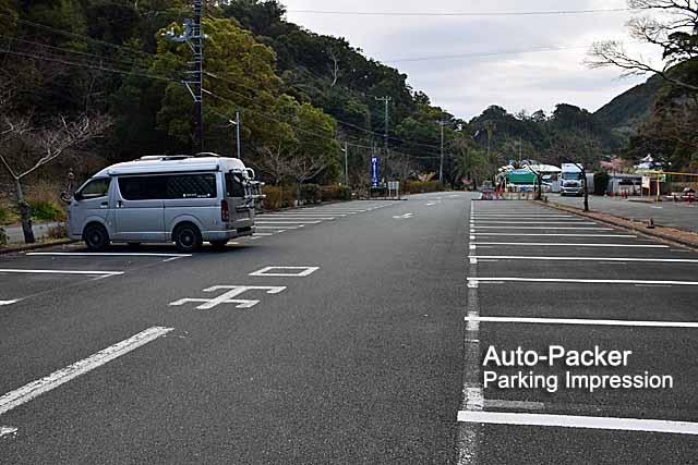 下田海中水族館の無料駐車場