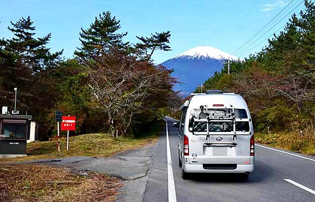 陸上自衛隊の東富士演習場