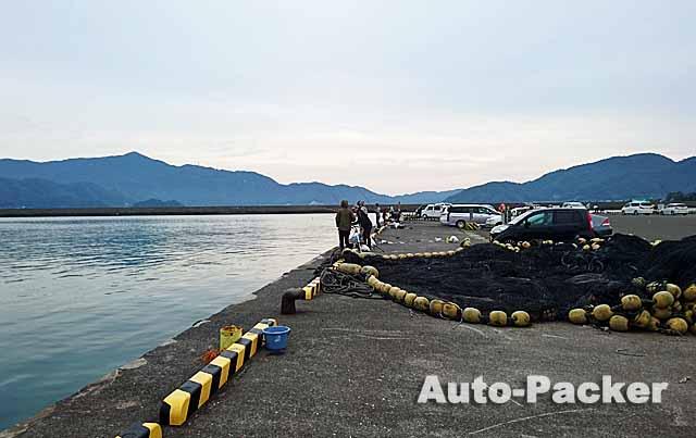 若狭で温泉に隣接する穴場の無料車中泊スポット 小浜漁港