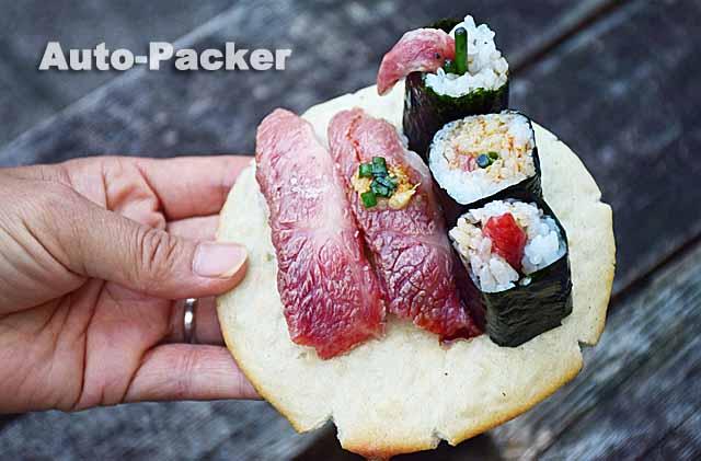 飛騨牛握り寿司