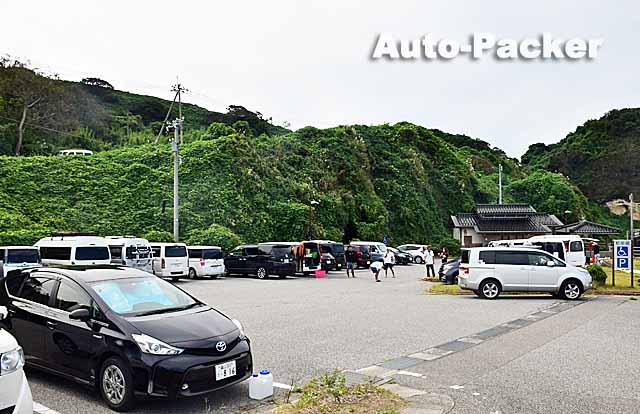 琴ヶ浜 無料駐車場