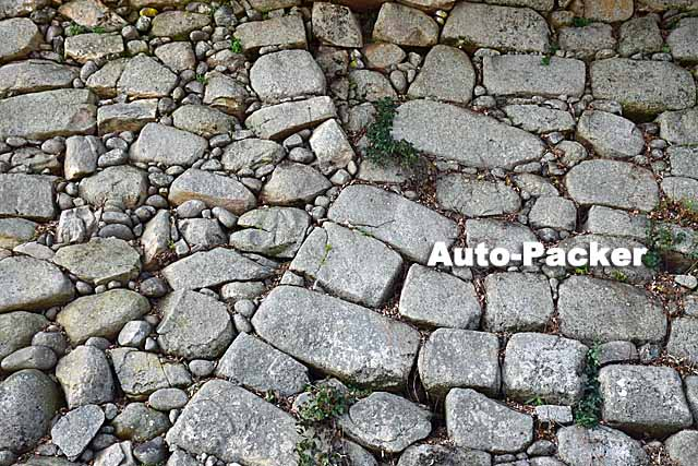 中津城の石垣