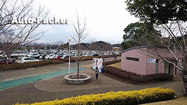 生目の杜運動公園駐車場
