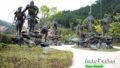 脱藩の地・梼原で、坂本龍馬の同志が躍動する「維新の門群像」