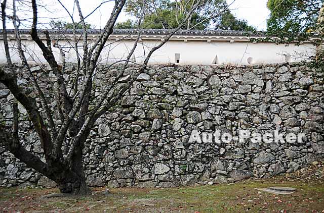 姫路城 秀吉時代の石垣