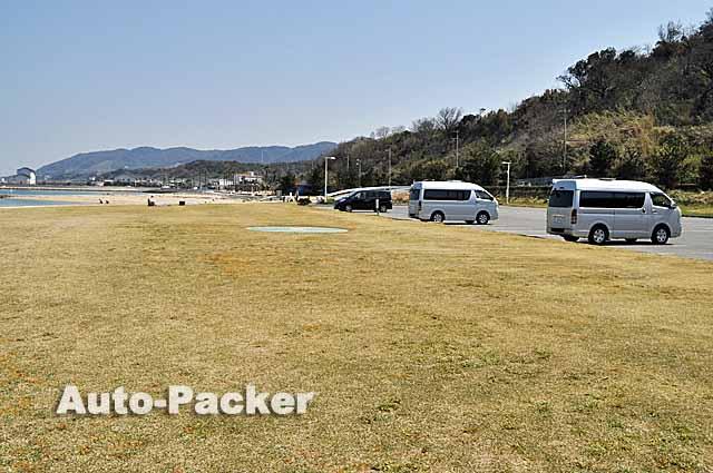 多賀の浜海水浴場 駐車場