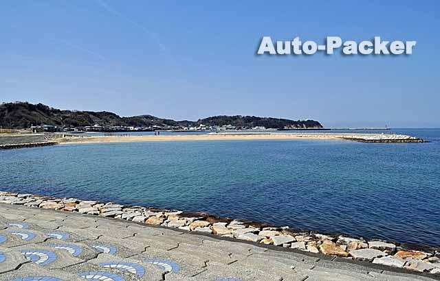 多賀の浜海水浴場駐車場