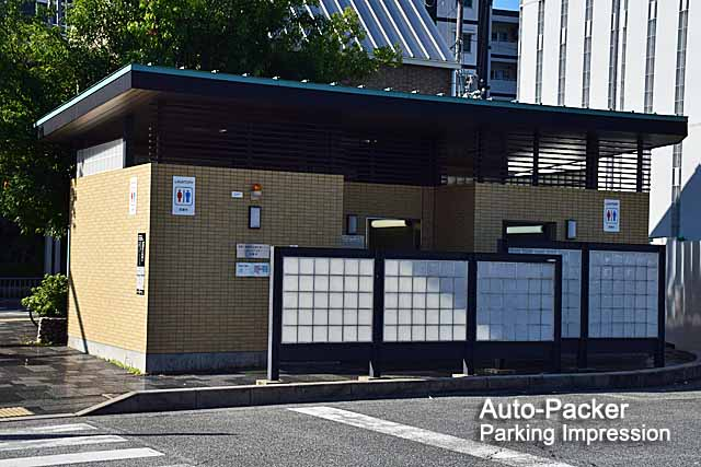 キョウテク京阪三条駅パーキング トイレ