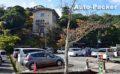 キャンピングカーも入庫できる、城崎ロープウェイ駐車場