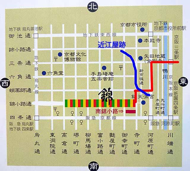 錦市場マップ