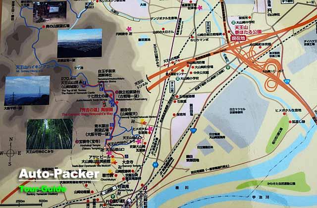 山崎市内マップ