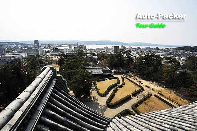 松江城からの眺望
