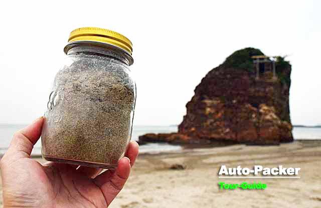 稲佐の浜の砂