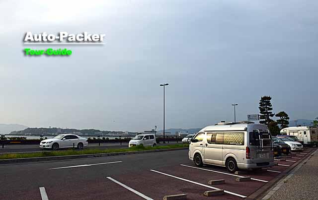 宍道湖 夕陽駐車場