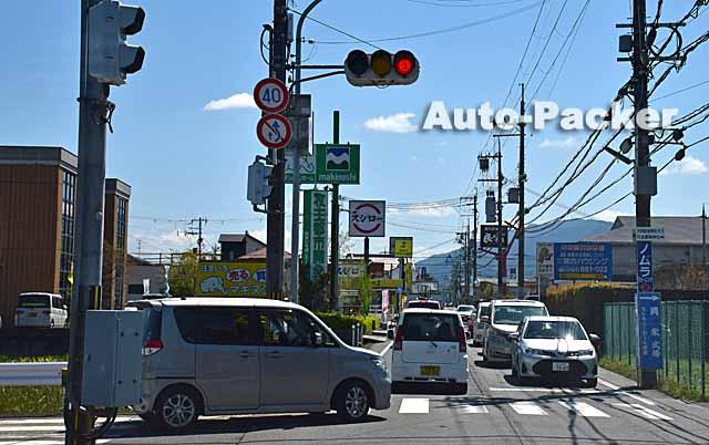 奈良市内の狭い道