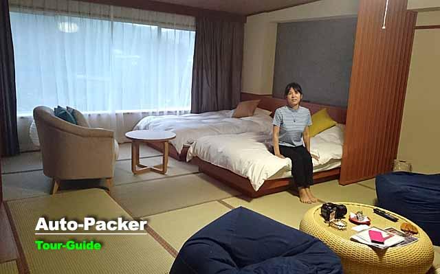 ホテル泊のクルマ旅