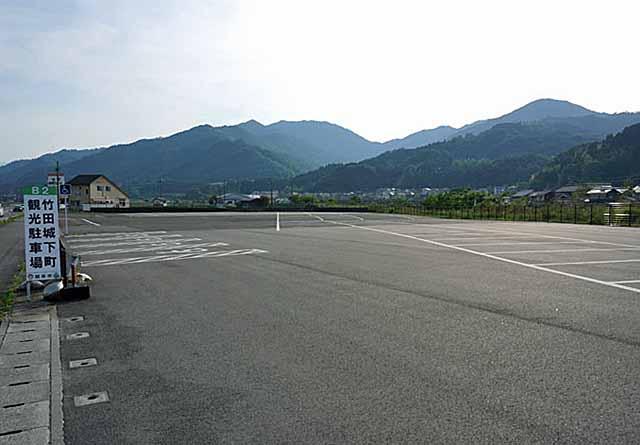 竹田城下町観光駐車場