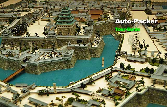 大阪城 模型