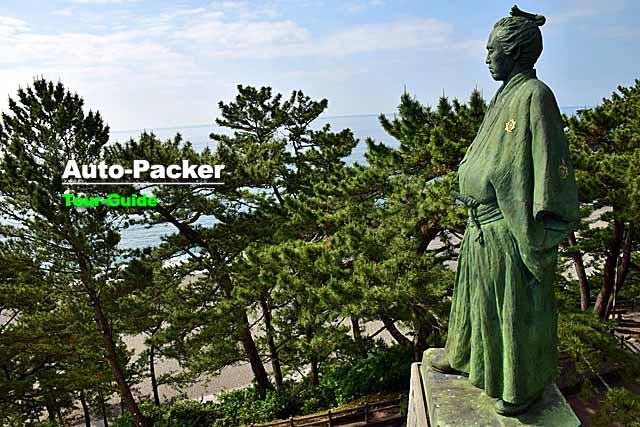 坂本龍馬 銅像